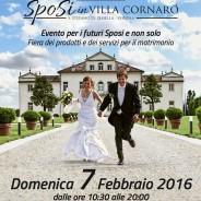 SPOSI IN VILLA CORNARO 7 FEBBRAIO 2016