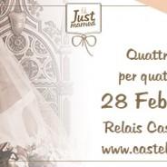 JUST MARRIED PRIMAVERA PRESSO IL CASTELLO DI BEVILACQUA (VR) – 28 FEBBRAIO 2016