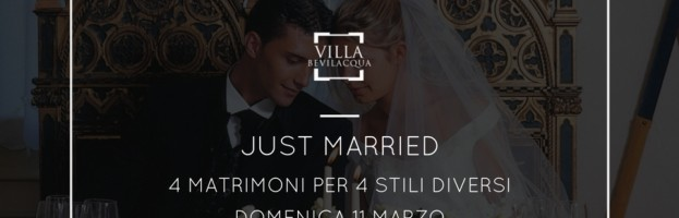 FIERA SPOSI JUST MARRIED PRIMAVERA – 11 MARZO 2018 CASTELLO DI BEVILACQUA (VR)