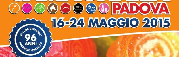 FIERA CAMPIONARIA DI PADOVA DAL 16 AL 24 MAGGIO 2015